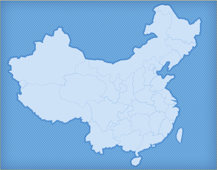Around China Map